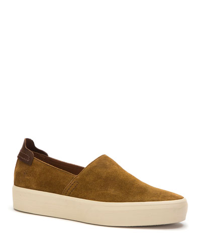 Men's Beacon Suede Slip-On Sneakers