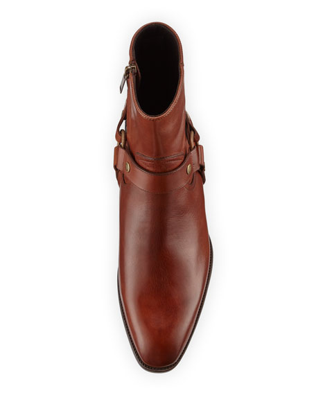 Wyatt Leather Harness Boot