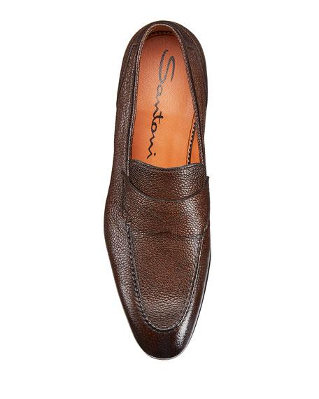 Men's Felipe Leather Penny Loafers