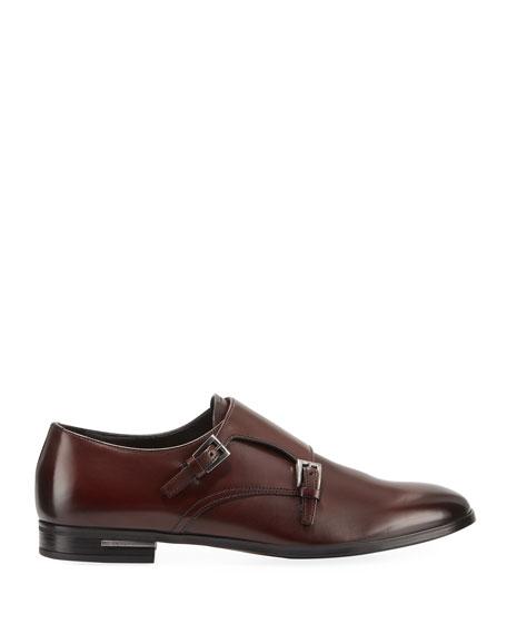 Men's Fondo Gomma Leather Double-Monk Shoe