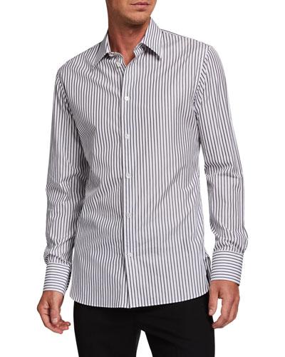 Men's Jasper Striped Dress Shirt