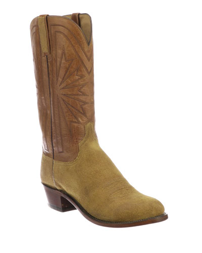 Men's Hobbs Sunburst Western Cowboy Boots (Made to Order)
