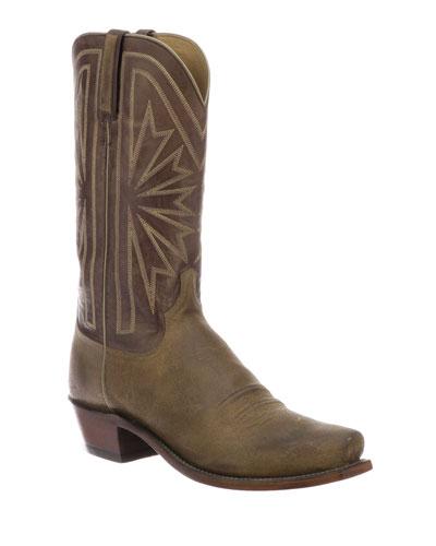 Men's Hobbs Sunburst Western Cowboy Boots