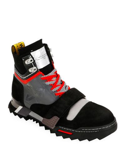 Men's Arrow Hiking Sneaker Boots