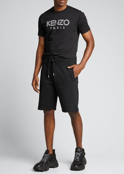 Men's Logo Paris Graphic T-Shirt