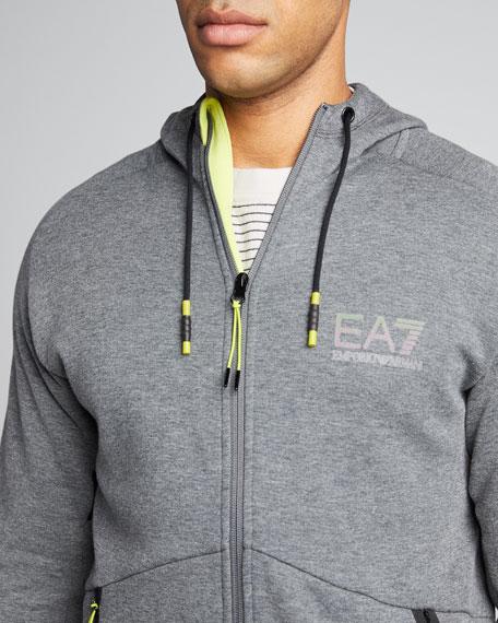 Men's Natural Ventus Zip-Front Hoodie