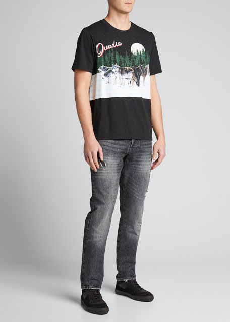 Image 1 of 1: Men's Straight Tapered Veil Jeans