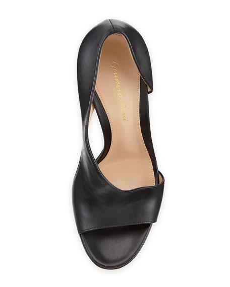Asymmetric Half-d'Orsay Sandal