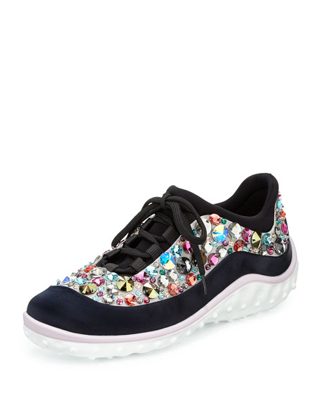 Images Footlocker Miu Miulace-up sneakers Véritable Vente eLb8olm