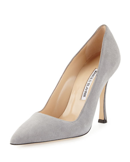 BB Suede 105mm Point-Toe Pump