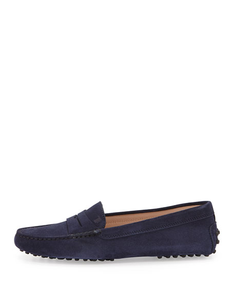 Gommini Suede Moccasin, Navy