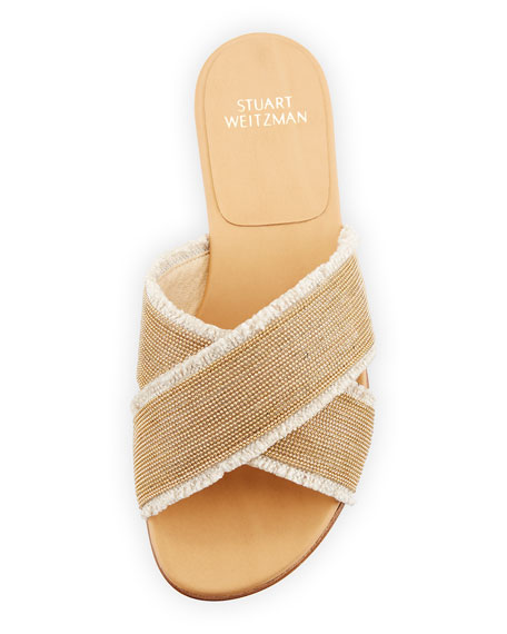Stuart Weitzman Edgeway Slide Sandal 0FnbH