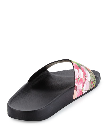 87a8e6d3c6d Gucci Gucci Pursuit Blooms Slide Sandal
