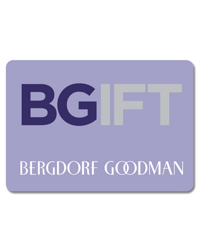 goodman logo. bergdorf goodman traditional gift card logo