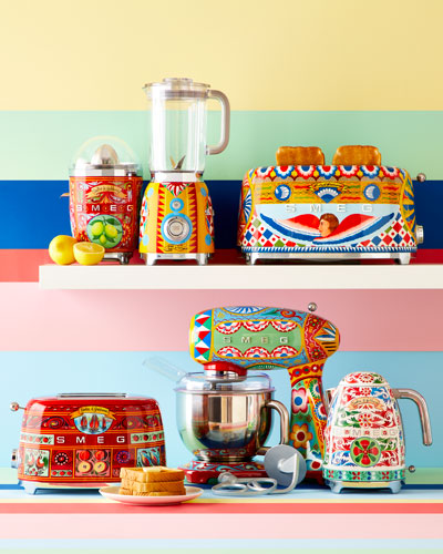 Dolce Gabbana x SMEG Sicily Is My Love Toaster and Matching Items