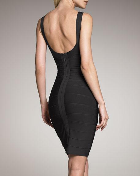 Basic Bandage Dress, Black