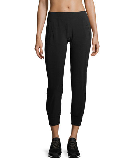 Image 1 of 1: Pull-On Stretch-Jersey Jogger Pants
