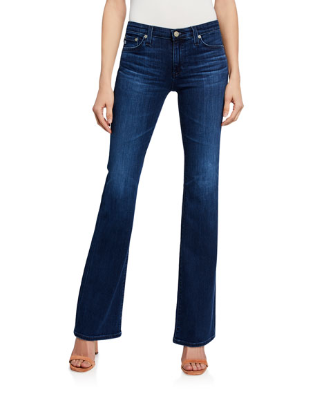 The Angel High-Rise Boot-Cut Jeans