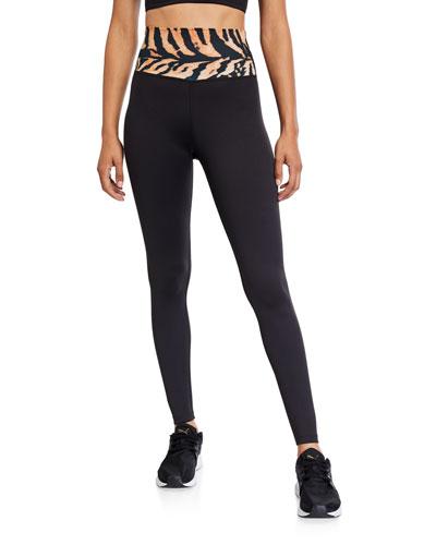 Nina Tiger High-Rise Leggings