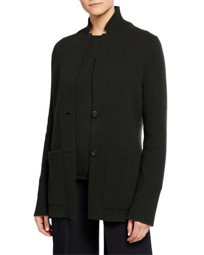 Pallina Reversible Baby Cashmere Double-Face Jacket