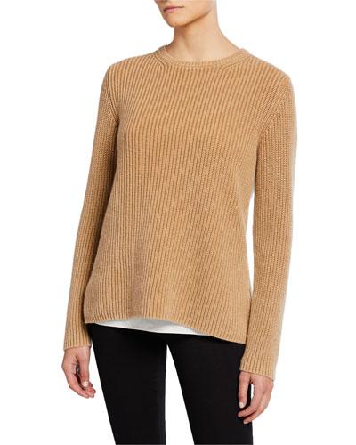 Sessanio Crewneck Stonewashed Cashmere Sweater