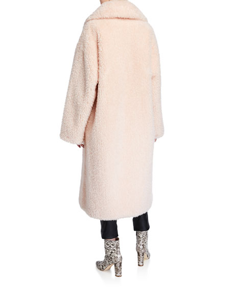 Clara Faux-Shearling Coat