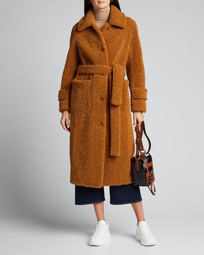 Lottie Faux-Shearling Coat