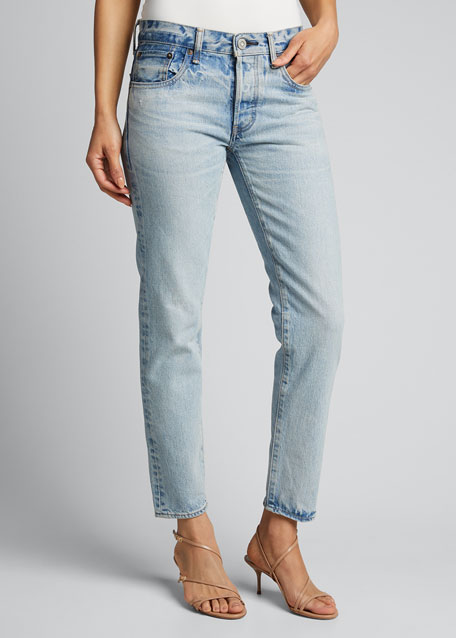 Camilla Tapered Crop Jeans