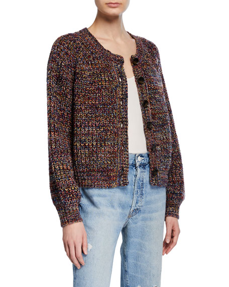 The Sophmore Button-Front Cardigan