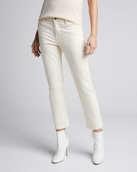 Le High Straight Ankle Jeans