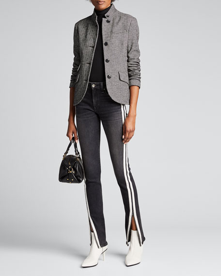 Slade Herringbone Blazer by Rag & Bone