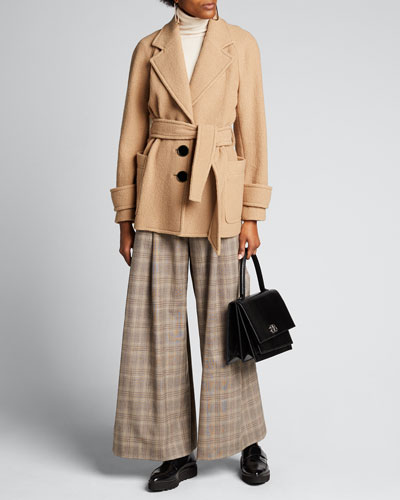 Bjorn Belted Wool Coat