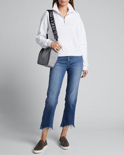 70s Half-Zip Pullover Sweatshirt