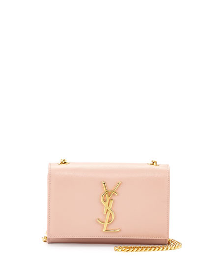 Monogram Small Crossbody Bag, Pale Blush
