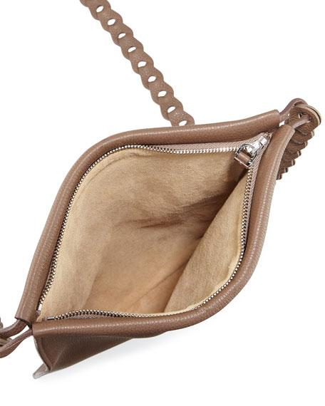 Large Calfskin Leather Medicine Pouch Bag