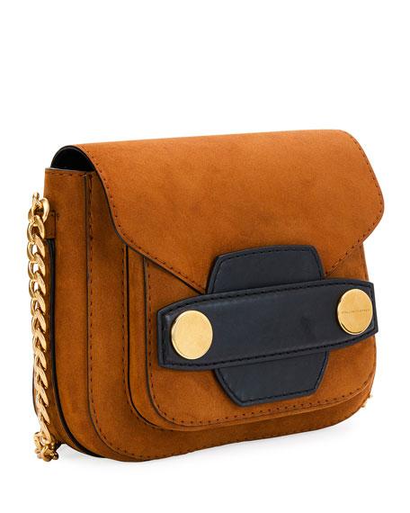 Alter Faux-Suede Shoulder Bag, Brown