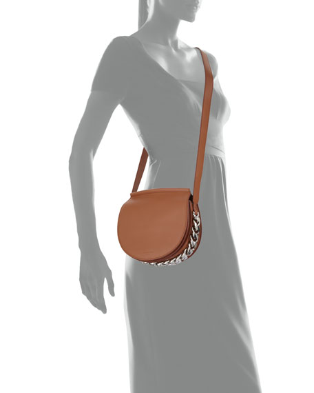 Infinity Mini Smooth Leather Saddle Bag