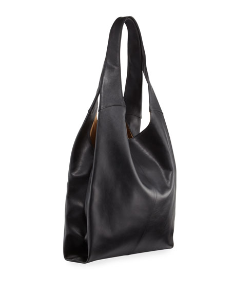 Grand Leather Shopper