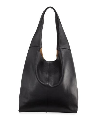 Grand Leather Shopper