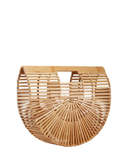 Gaia's Ark Large Bamboo Clutch Bag