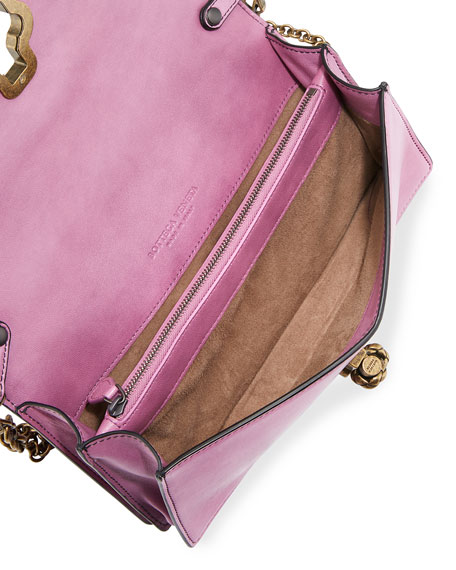 Olimpia knot shoulder bag - Pink & Purple Bottega Veneta FgtSk9AqA