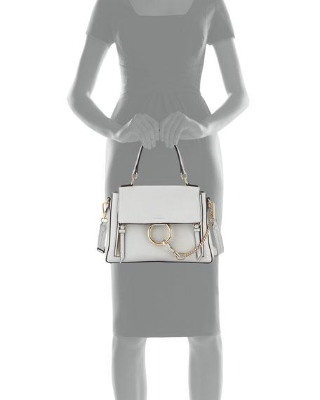 Faye Day Small Pebbled Ring Shoulder Bag