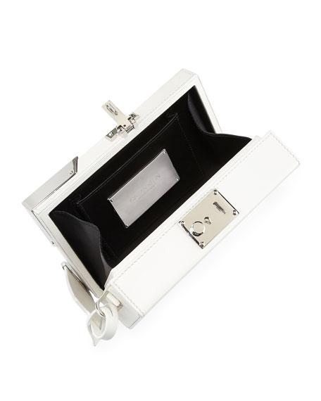 Box Mini Luxe Leather Clutch Bag