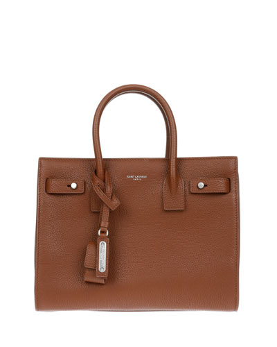Sac de Jour Supple Bonded Leather Tote Bag