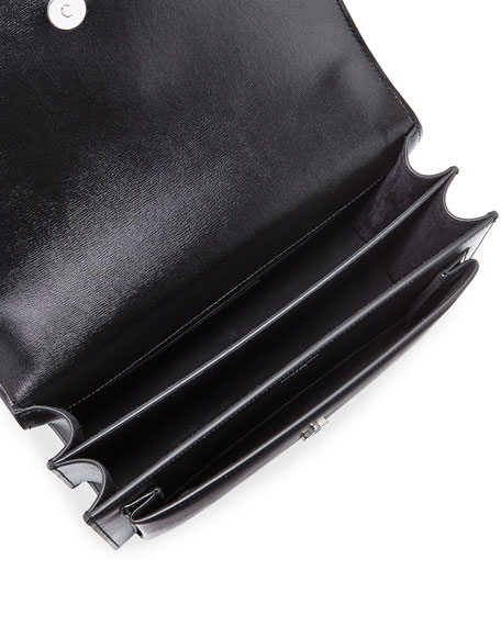 Sunset Monogram Large Flap-Top Crossbody Bag