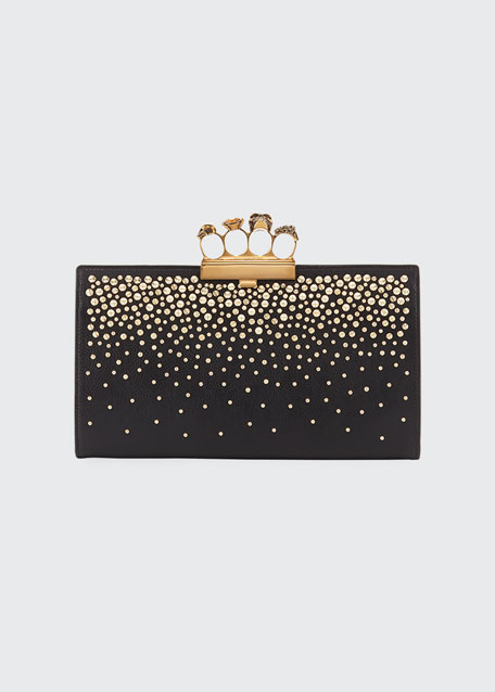 Knuckle Flat Pouch Clutch Bag