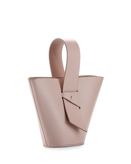 Mini Amphora Leather Top Handle Bag