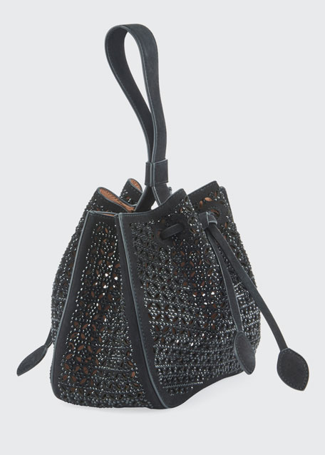 Rose Marie Wristlet Small Bucket Bag