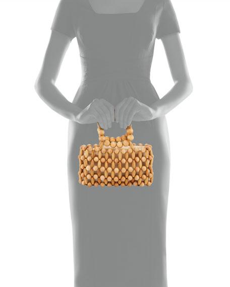 Cora Bamboo Clutch Bag