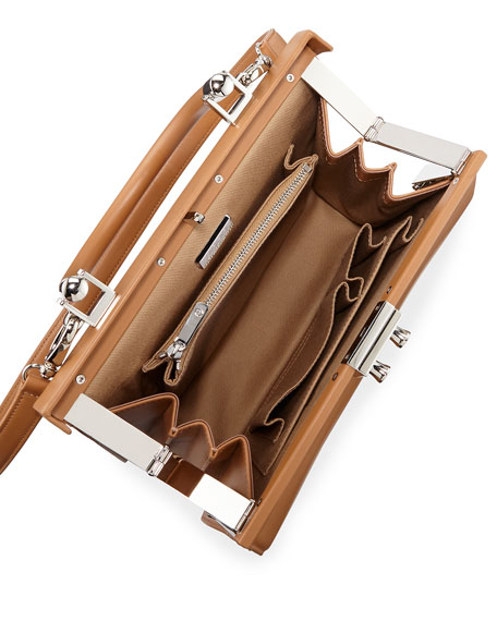 Paris Leather Top-Handle Bag